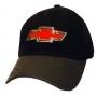 Red Metal Plate Cap